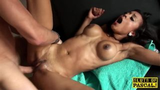 Black English Sub Prostitute Squirts And Throatfuck
